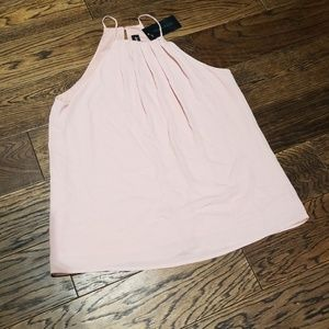 Ladies halter top.peach colored